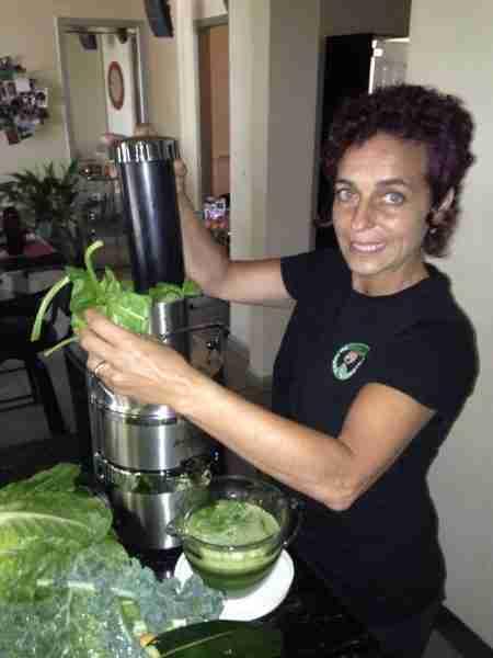 Juicing fresh juice