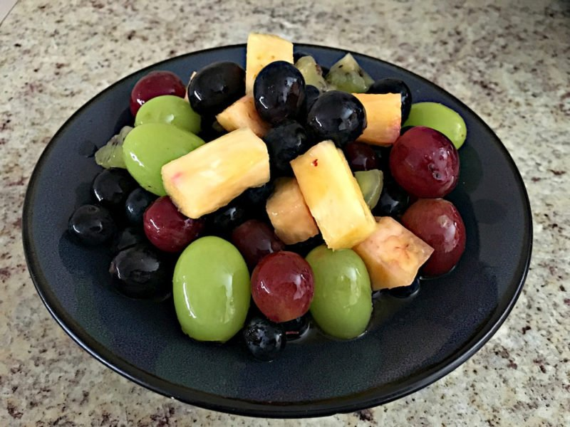 Natural Healing Fresh Fruit Salad